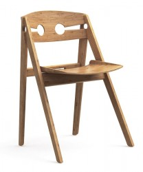 We Do Wood - Dining chair No. 1 - Lys træ