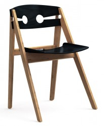 We Do Wood - Dining chair No. 1 - Sort