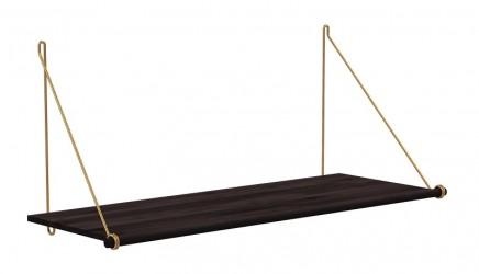 We Do Wood - Loop Shelf - Mørk bambus