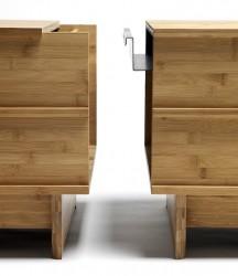 We Do Wood - Samlebeslag til Correlations Bench - Sort