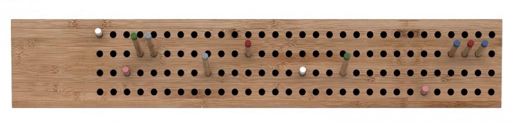 We Do Wood - Scoreboard horizontal - Bambus