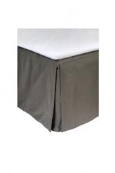 Weeknight BED SKIRT charcoal 120x220x42