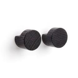 Wood knot knage (sort/2 stk.)
