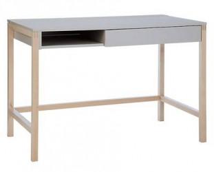 Woodman Northgate MEL small skrivebord – Grå/birk