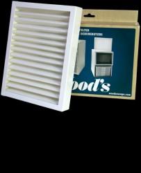 Woods Ramme Med Smf Filter Til Ds, Ed Og Tdr-modellerne Petroleumsovne