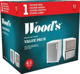 Woods SMF filter 5-pack 8012804 Skimmel partikelfilter