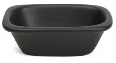 Xantia Badekarsskål 10x6,5cm, sort