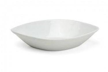 Xantia Skål lav 12x8cm, hvid