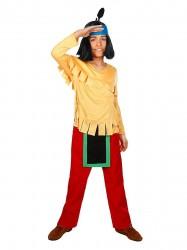 Yakari indianer Kostume / Udklædningstøj(Str. 134-140/134-140)