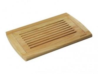 Zassenhaus Skærebræt brød 42x28cm rubberwood