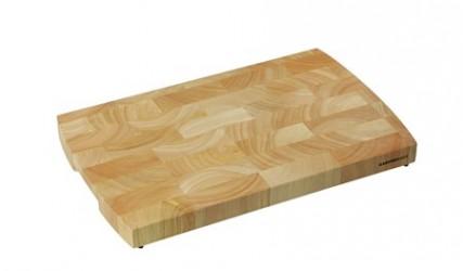 Zassenhaus Trancherbræt endetræ m gummifødder 40x25cm rubberwood endetræ