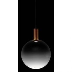 ZERO Fog pendelarmatur glas/kobber - D30