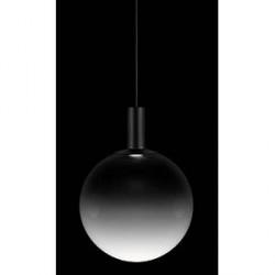 ZERO Fog pendelarmatur glas/sort - D30