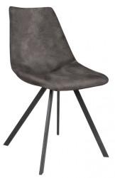 Zobel Spisebordsstol - Mørkegrå polyester
