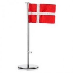 Zone bordflag med dansk flag - H 18 cm