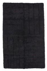 Zone Denmark Bademåtte - Black - Stk. - 100% bomuld - 1800 g - L 80,0cm - B 50,0cm - Hænge kort