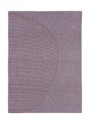 Zone Denmark Viskestykke - Purple - Stk. - Dryart - Circles - 100% bomuld - L 70,0cm - B 50,0cm - Hangtag