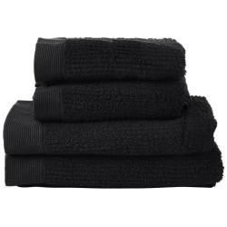 Zone håndklædesæt - Classic - Sort