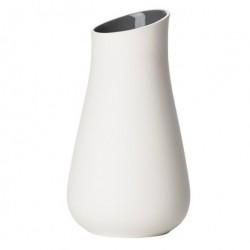 Zone vase (koksgrÅ/hvid)