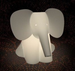 Zoolight (bord elefant)