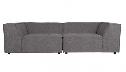 Zuiver - King Sofa 3,5-pers. - Mørk grå