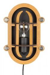 Zuiver - Navigator væglampe - Sort