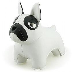 Zuny fransk bulldog (hvid)