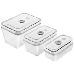 Zwilling vakuumbeholdere i glas - Fresh & Save - 3 dele