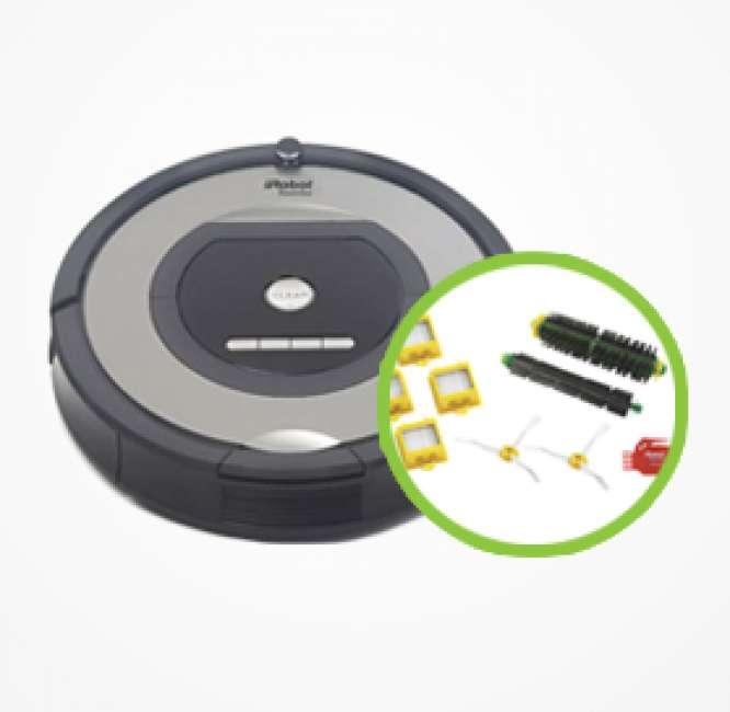Priser på iRobot Roomba 772 inkl. tilbehørskit