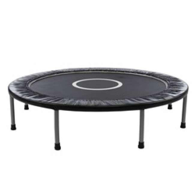 Priser på Lille trampolin / fitness trampolin på 120 cm i diameter, sort
