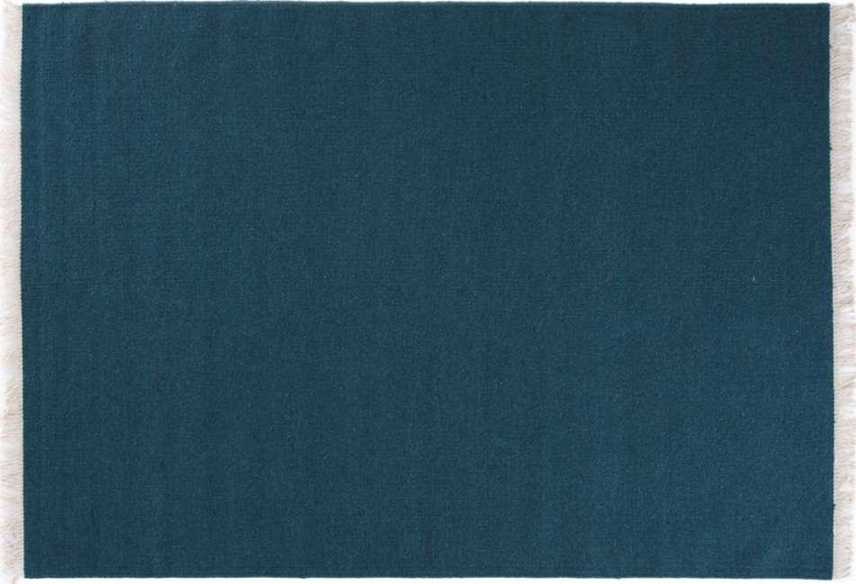 Priser på Linie Design Rainbow Tæppe - Petrol - 200x300