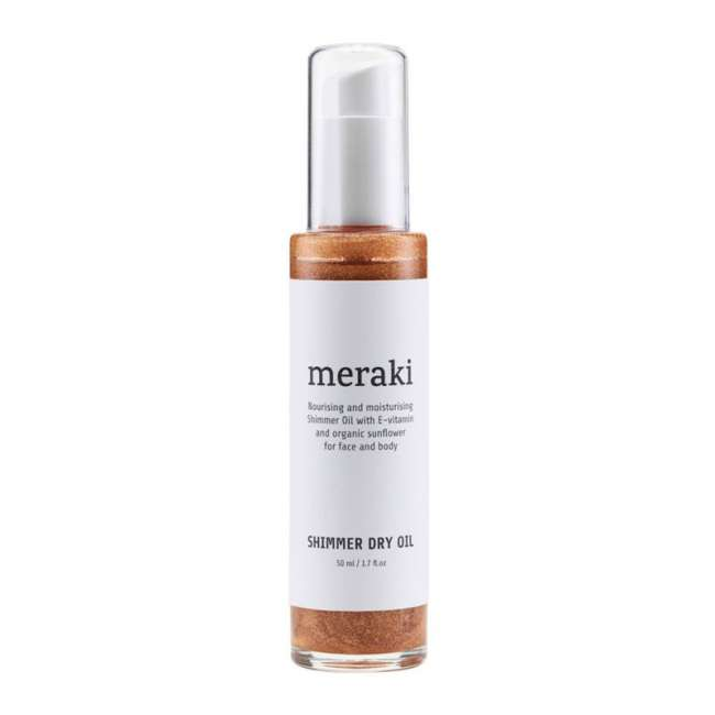 Priser på Meraki Shimmer Dry Oil