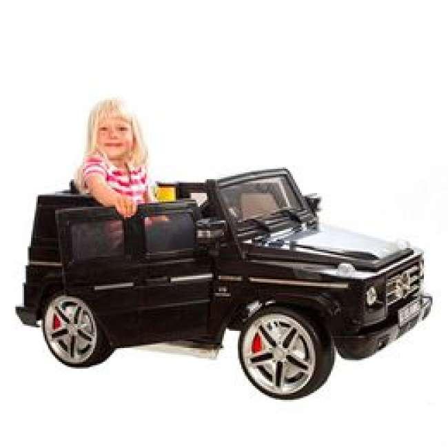 Priser på Mercedes elbil - SUV G55 - Sort