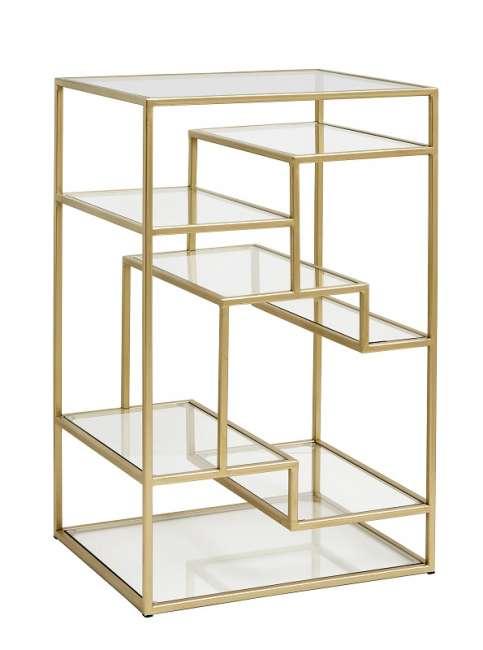Priser på Nordal - Display m/glashylder - Metal
