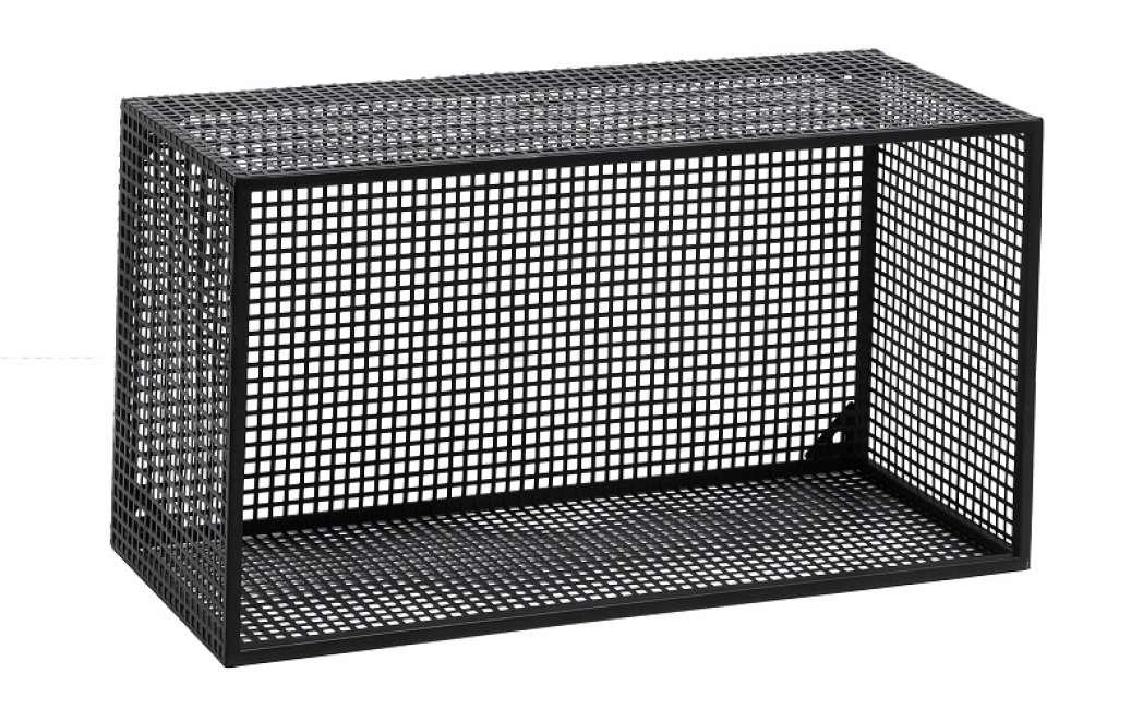 Priser på Nordal - Wire Bogkasse 60x32 cm - Sort