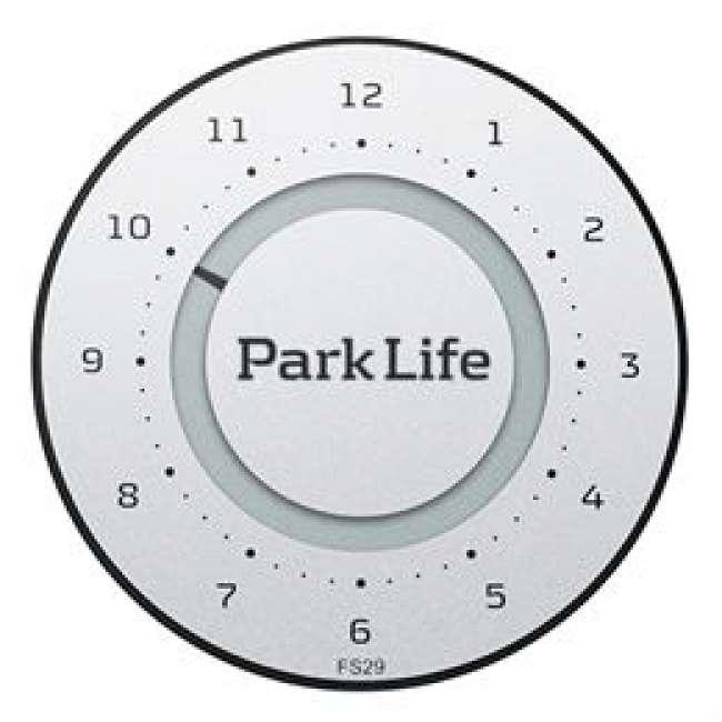 Priser på Park Life parkeringsskive - Titanium Silver