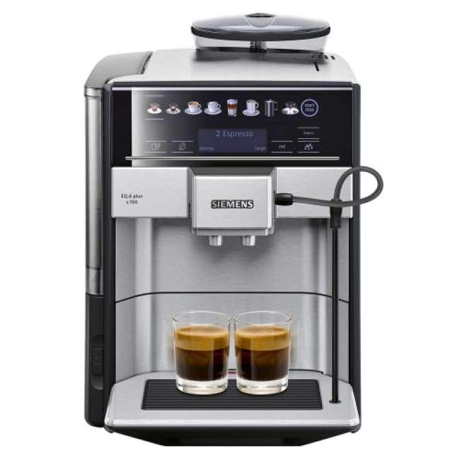 Priser på Siemens espressomaskine - TE657313RW