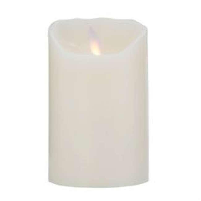 Priser på Sompex LED-stearinlys - LeveLys - Creme - H 12 cm