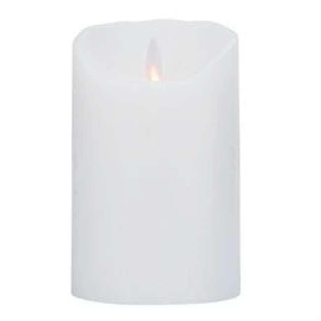 Priser på Sompex LED-stearinlys - LeveLys - Frosthvid - 12,5 cm