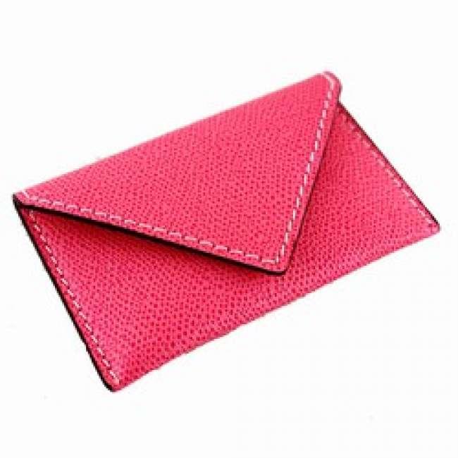 Priser på Visitkortholder / kreditkortholder - pink læder